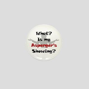 What? Asperger's Mini Button