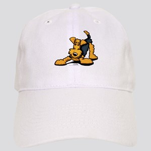 Airedale at Play Cap