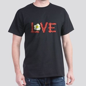 Love Bacon and Eggs Dark T-Shirt
