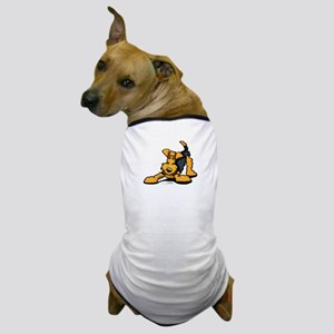 Airedale at Play Dog T-Shirt