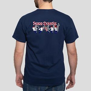 Croatian Basketball Dark T-Shirt