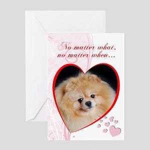"Pomeranian ""Just Whistle"" Valentine"