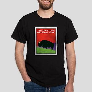 Yellowstone NP: Bison Dark T-Shirt