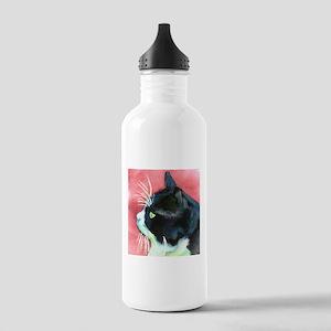 Tuxedo Cat Stainless Water Bottle 1.0L