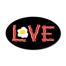 Love Bacon and Eggs Wall Decal