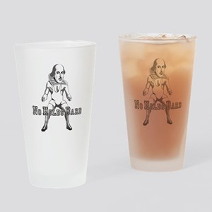 No Holds Bard Drinking Glass