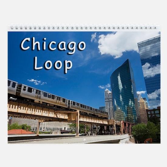 Chicago Loop Wall Calendar