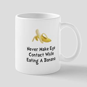 Eye Contact Banana Mug