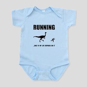Hate Running Infant Bodysuit