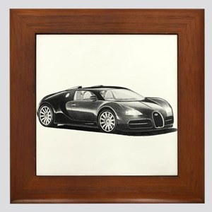 Bugatti Veyron, Framed Tile