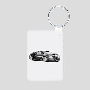 Bugatti Veyron, Aluminum Photo Keychain