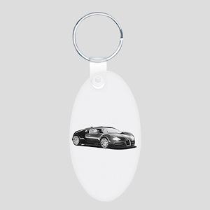 Bugatti Veyron, Aluminum Oval Keychain