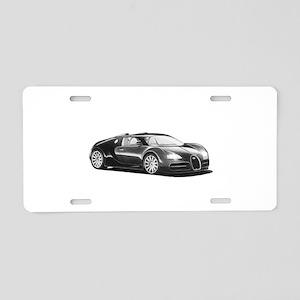 Bugatti Veyron, Aluminum License Plate