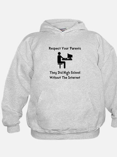 Respect Parents Internet Hoodie