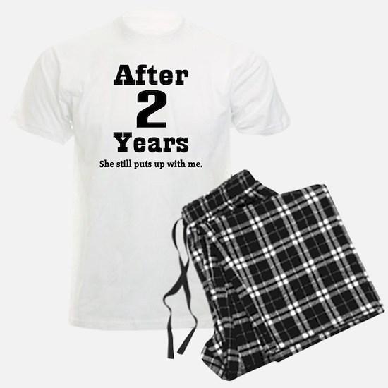 2nd Anniversary Funny Quote Pajamas