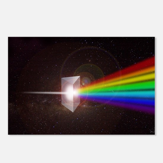 Prism Color Spectrum Postcards (Package of 8)