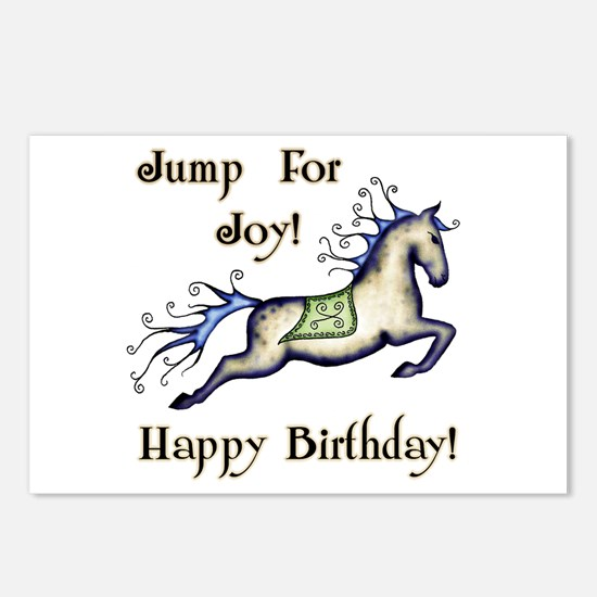 Happy Birthday! Horse  Postcards (Package of 8)
