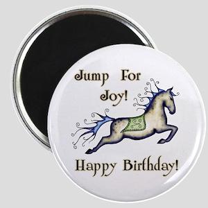 Happy Birthday! Horse Magnet