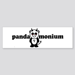 PANDAMONIUM Bumper Sticker