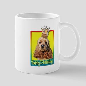 Birthday Cupcake - Cocker Spaniel Mug