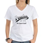 Puzzles Bar Women's V-Neck T-Shirt
