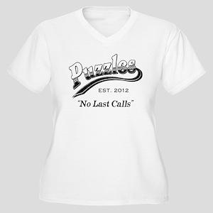 Puzzles Bar Women's Plus Size V-Neck T-Shirt