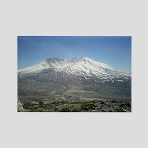 Mt St Helens Rectangle Magnet