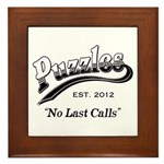 Puzzles Bar Framed Tile