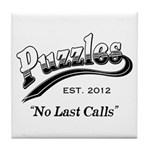 Puzzles Bar Tile Coaster