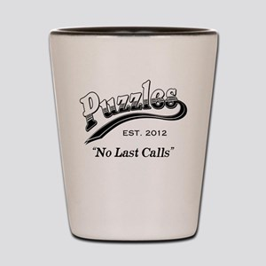 Puzzles Bar Shot Glass