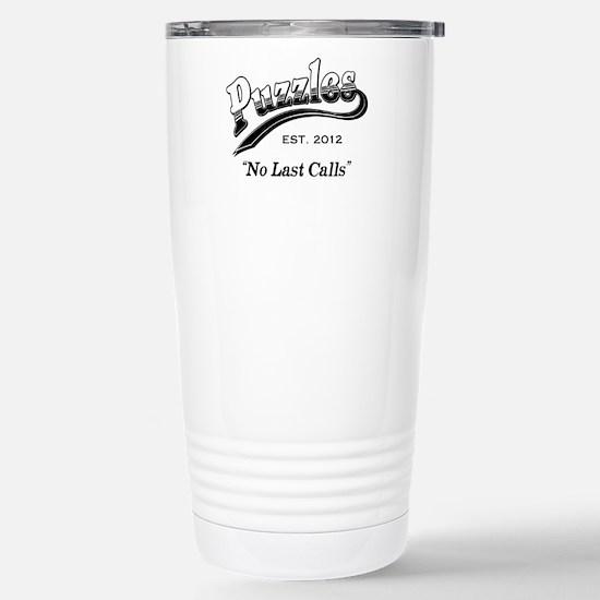 Puzzles Bar Stainless Steel Travel Mug