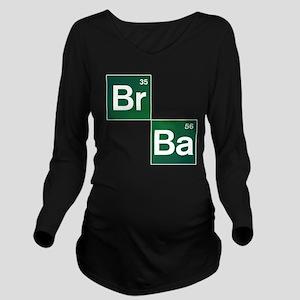 'Breaking Bad' Long Sleeve Maternity T-Shirt