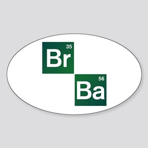 'Breaking Bad' Sticker (Oval)