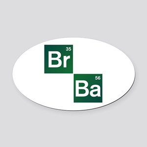 'Breaking Bad' Oval Car Magnet