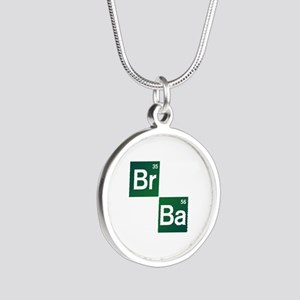 'Breaking Bad' Silver Round Necklace