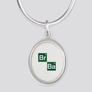 'Breaking Bad' Silver Oval Necklace