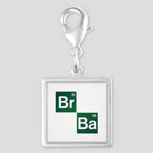 'Breaking Bad' Silver Square Charm