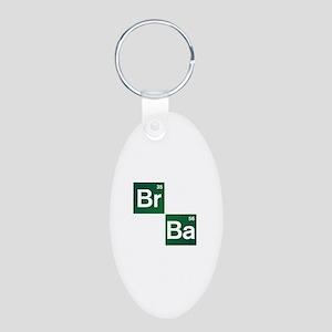 'Breaking Bad' Aluminum Oval Keychain