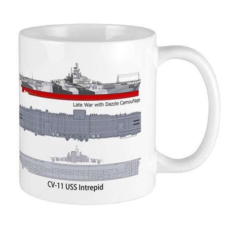 USS Intrepid CV-11 CVA-11 CVS-11 Mug