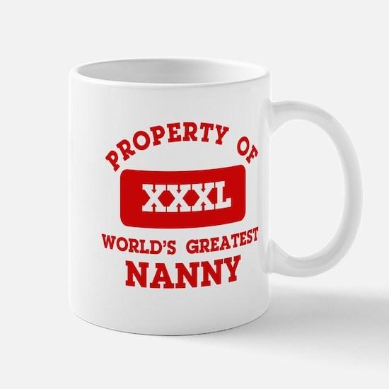 Property of Nanny Mug
