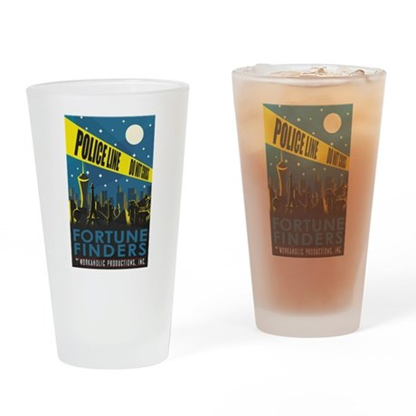 Fortune Finders Drinking Glass