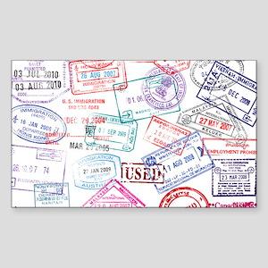 Seasoned Traveller Sticker
