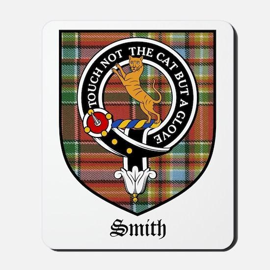 Smith Clan Crest Tartan Mousepad
