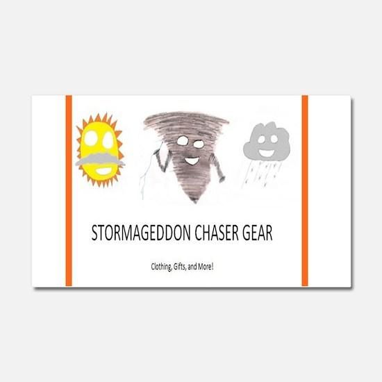 Stormageddon Car Magnet 20 x 12