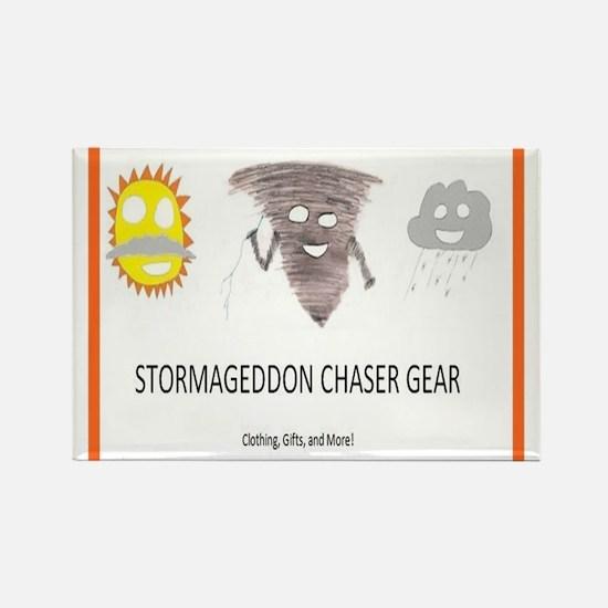Stormageddon Rectangle Magnet