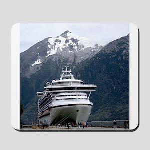 Cruise Alaska Mousepad