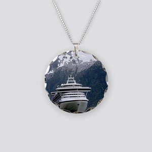 Cruise Alaska Necklace Circle Charm