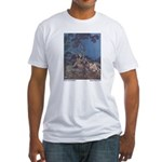 Dulac's Beauty & the Beast Fitted T-Shirt