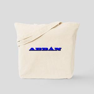 ABBÁN Tote Bag