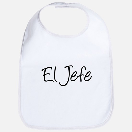 El Jefe The Baby Boss Bib